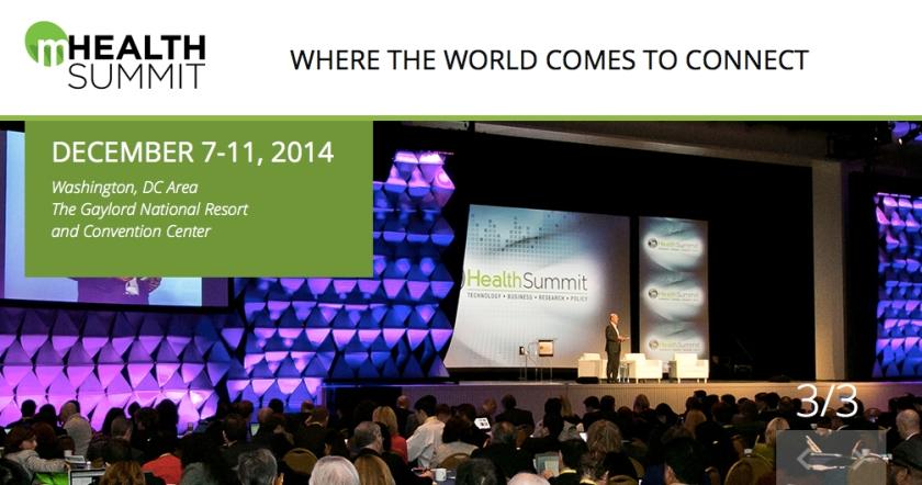 mHealth Summit 2014